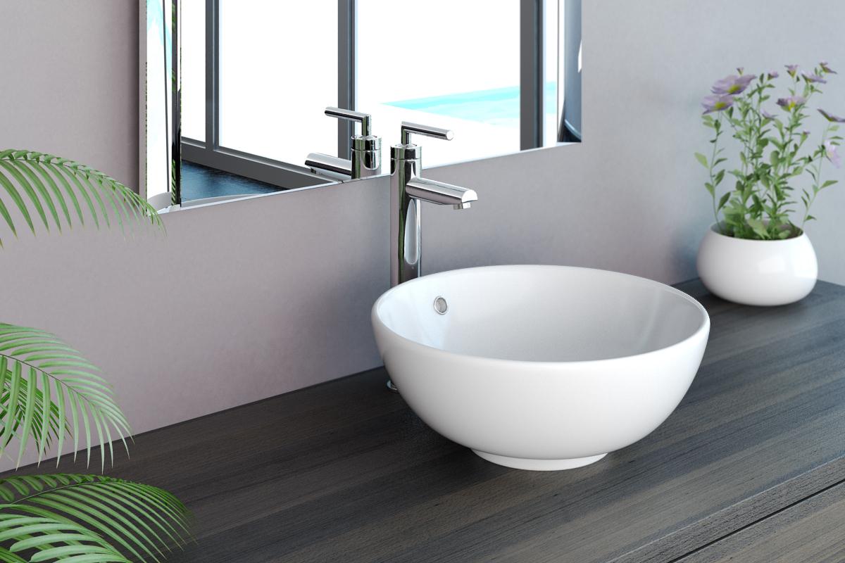 neg waschbecken uno20a aufsatz waschschale aufsatzbecken. Black Bedroom Furniture Sets. Home Design Ideas