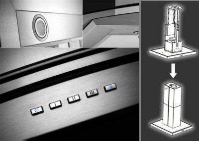 neg insel dunstabzugshaube neg38 abluft 90cm inselhaube. Black Bedroom Furniture Sets. Home Design Ideas