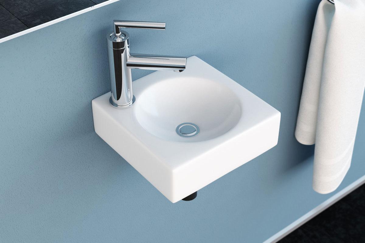 neg waschbecken uno30h h nge waschschale becken waschtisch lotus effekt wei. Black Bedroom Furniture Sets. Home Design Ideas