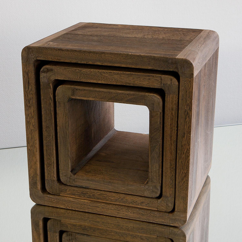 NEG TischSet Vinuja (dunkelbraun) Beistelltisch