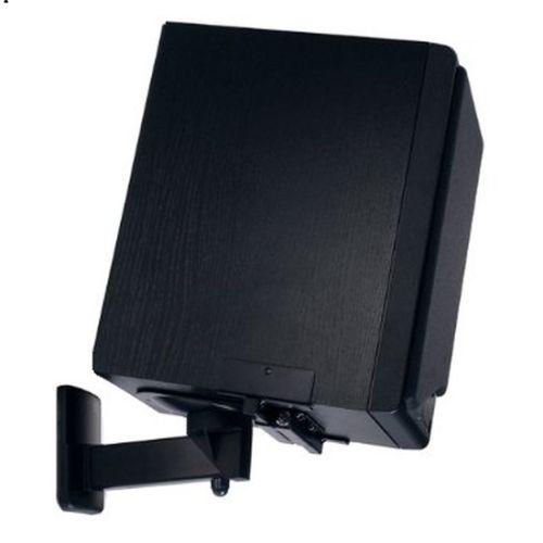 neg lautsprecher halterung paar boxen halter schwarz wand decke heimkino ebay. Black Bedroom Furniture Sets. Home Design Ideas