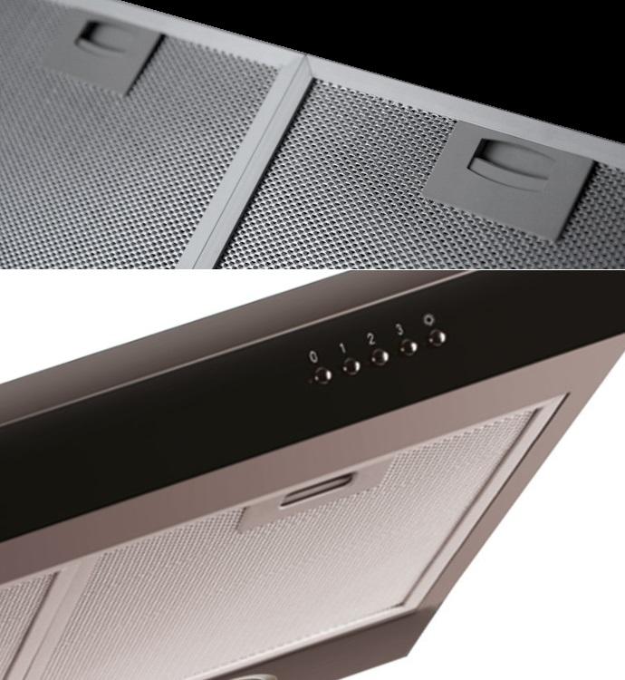 unterbau dunstabzugshaube neg15 dunstabzug edelstahl umluft abluft led schwarz ebay. Black Bedroom Furniture Sets. Home Design Ideas